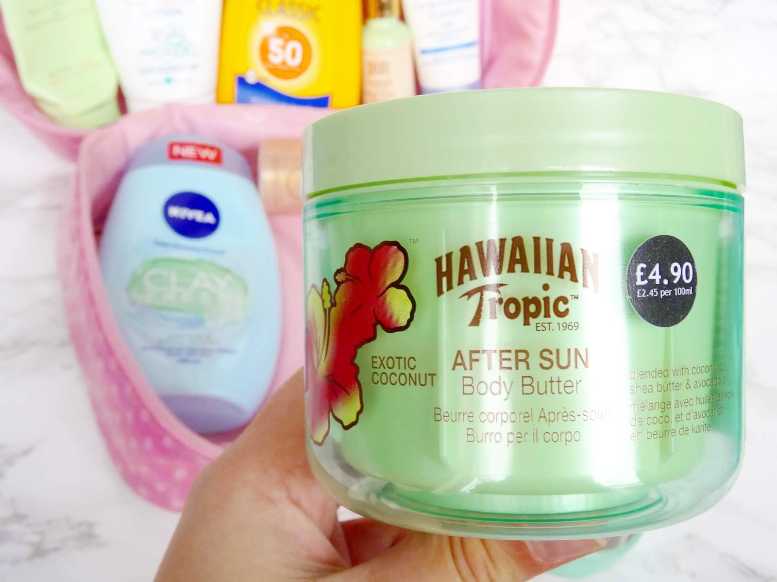 Hawaiian Tropic After Sun Body Butter in Exotic Coconut