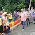 Gonzalo Castillo y Arístides Victoria organizan llenado de tanques de gas gratis en Nagua.