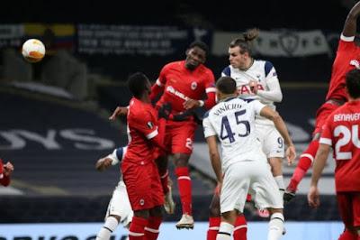 ملخص واهداف مباراة توتنهام وانتويرب (2-0) الدوري الاوروبي