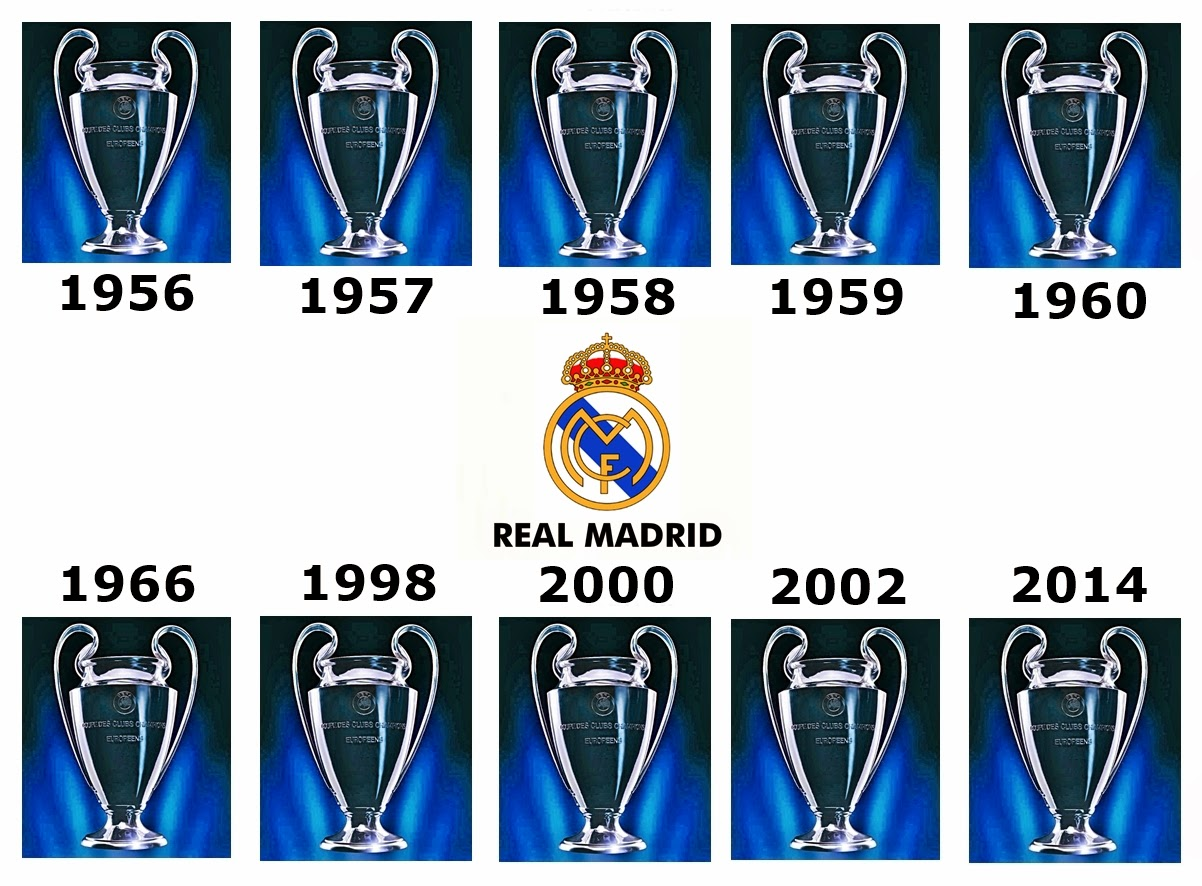 13 Copas Real Madrid