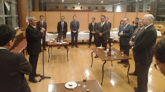 Pushidrosal TNI AL Sosialisasikan Penetapan TSS Selat Sunda dan Selat Lombok  di Jepang