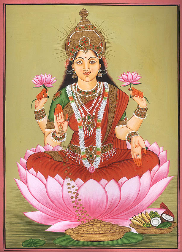 Godess laxmi beautiful pictures   God Wallpapers