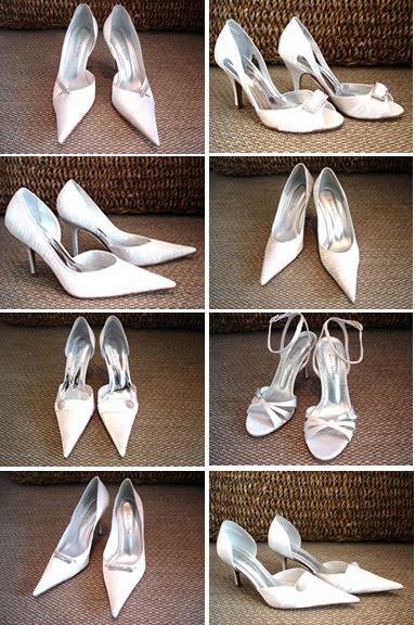 ebee5f9c5 ... quiser: o tamanho e formato do salto, tipo do bico do sapato, com  plataforma ou sem e, inclusive, eles fazem meio número, ou um sapato de  cada número.