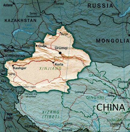 Xinjiang - Região Autonoma da China