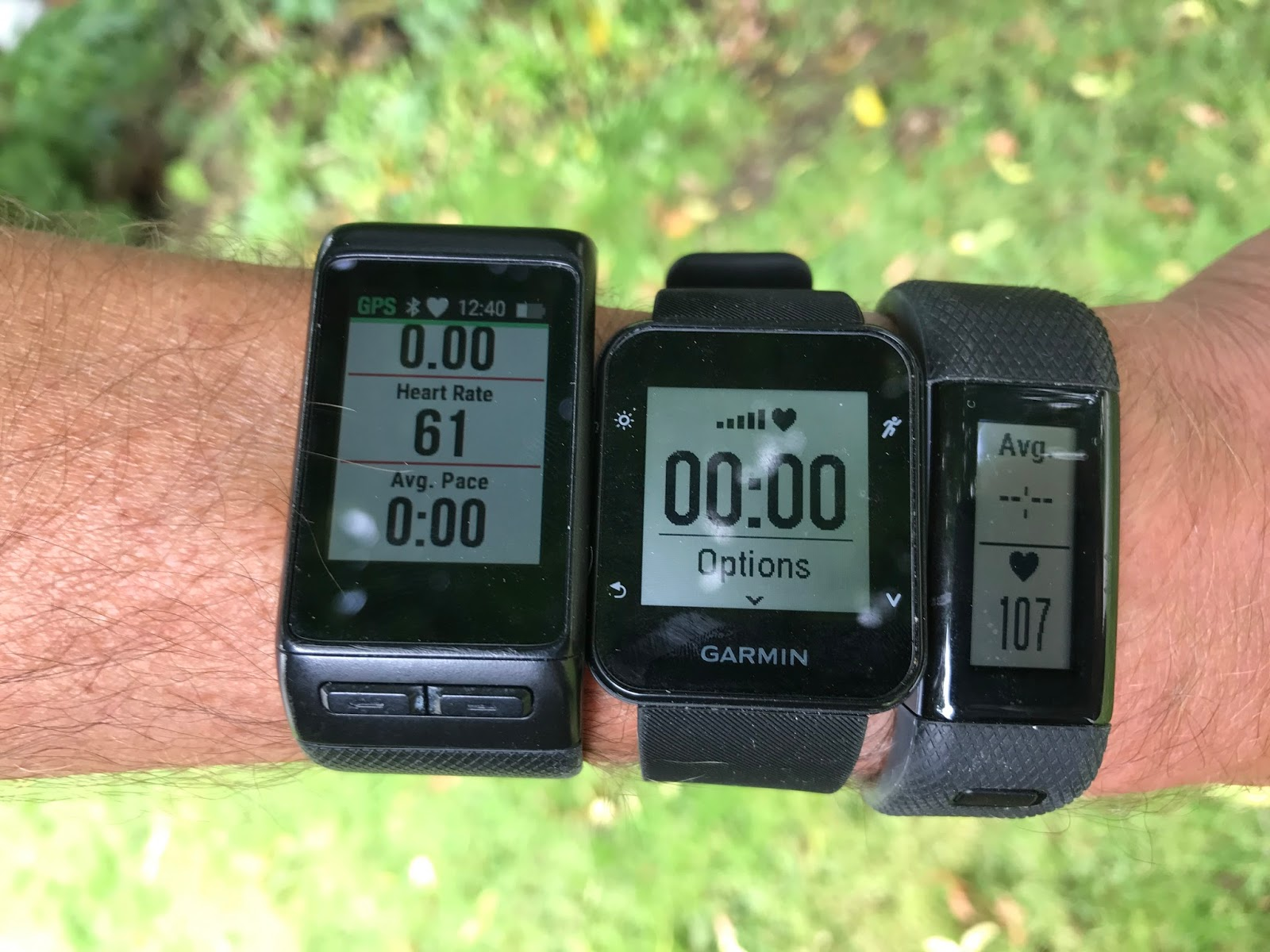 Road Trail Run: Garmin Comparison: Forerunner 35 ...