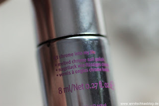 Review: essence - step into magic wonderland - Melted Chrome Nails - www.annitschkasblog.de