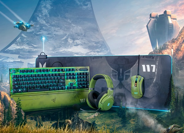 Razer Halo Infinite product line