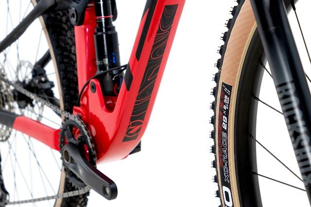 Detalhes do Downtube da TSW Full Quest Starter - Foto: TSW Bike / Divulgação