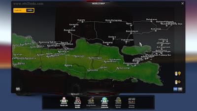Map MASJALI (Madura Sumatra Jawa Bali) ETS2 1.41 Multiplayer