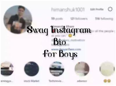 ▷ 973+ Swag bio for instagram for Boys 2021-   Swag   Stylish   English   Cool Boys