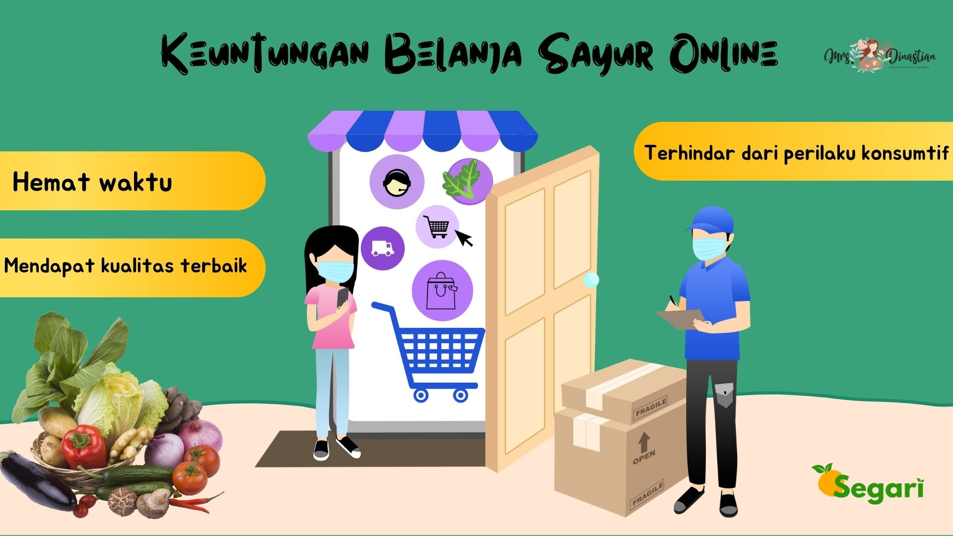 Keuntungan Belanja Sayur Online