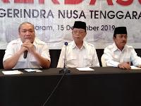 Rakerdasus Ajang Konsolidasi, Gerindra NTB Bertekad Menangkan Pilkada Serentak 2020