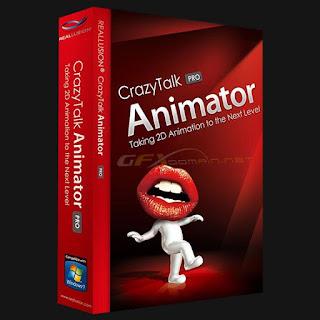تثبيت وتفعيل برنامج صنع أفلام الأنيميشن CrazyTalk Animator 3.12.1719.1