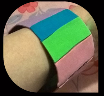 DIY Duct Tape Bangle