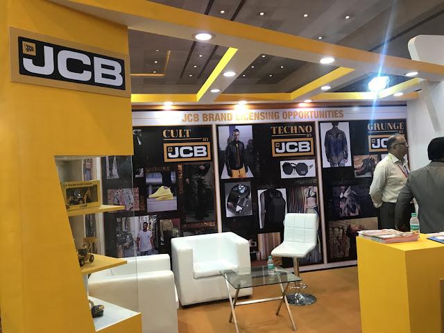 JCB India - India Licensing Expo at Sahara Star, Mumbai