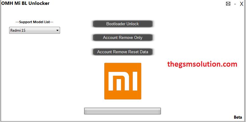 OMH Mi Account Unlocker Free For All  - Thegsmsolution