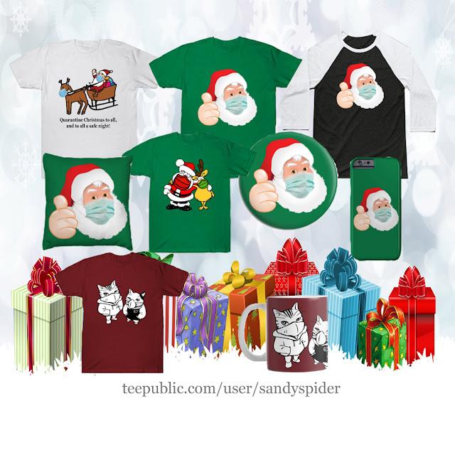 Masked Santa T-Shirts & Gifts