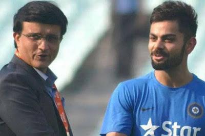 Sourav Ganguly & Virat Kohli