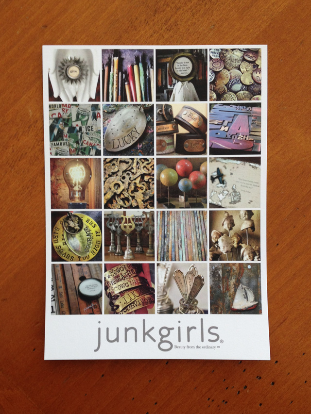 JunkGirls in Cambria, postcard | MamaBleu.com