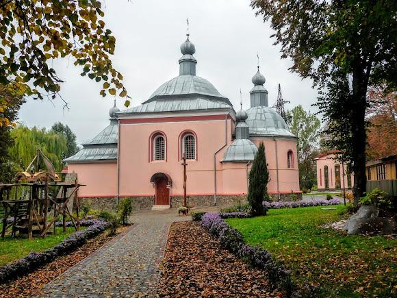 Сокаль. Церковь святого Николая