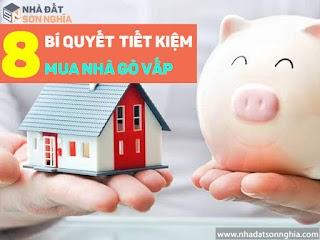 8 bí quyết tiết kiệm tiền thông minh để sớm mua nhà ở Gò Vấp