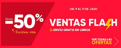 Mejores ofertas promoción Ventas Flash de Fnac.es