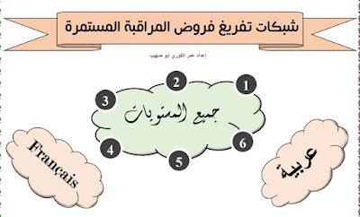 شبكات-تنقيط-المراقبة-المستمرة-جميع-المستويات-عربية-وفرنسية-وفق-مسار
