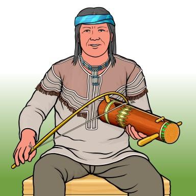 アパッチ・フィドル Apache fiddle / tsii'edo'a'tl