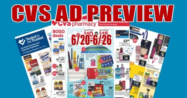 CVS Ad Scan 6/20 to 6/26, Check out the latest Coupon Deals, Extrabuck, BOGO free, Beauty buck offers in the New CVS Weekly Ad Preview starting 6/20/21- 6/26/21.