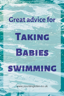 Great advice for taking babies swimming for the first time