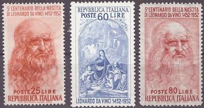 Italy 1952 - Leonardo da Vinci