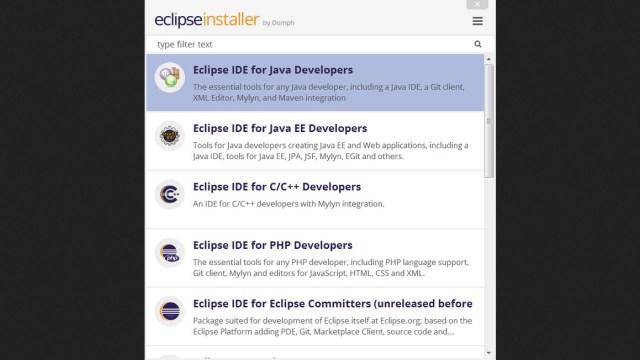 Eclipse ide for ee developers