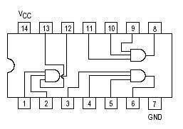 logic diagram of 1 to 4 demultiplexer