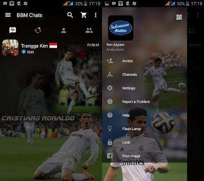 BBM MOD Real Madrid Clone