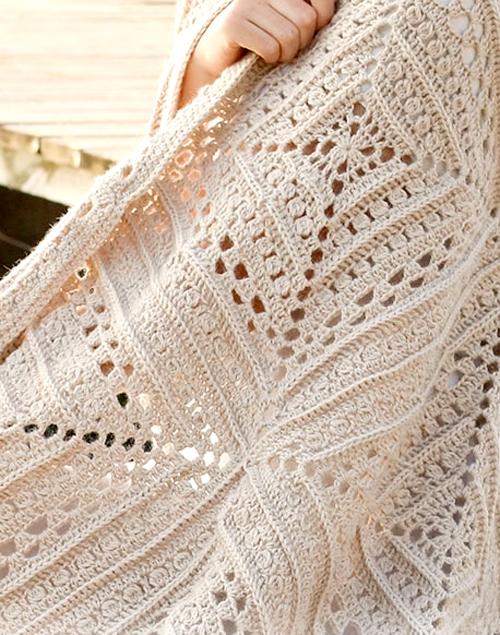 Day By The Sea crochet Blanket - Free Pattern