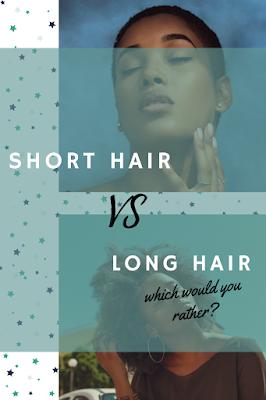 short hair versus long hair pin
