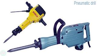pneumatic drill tool