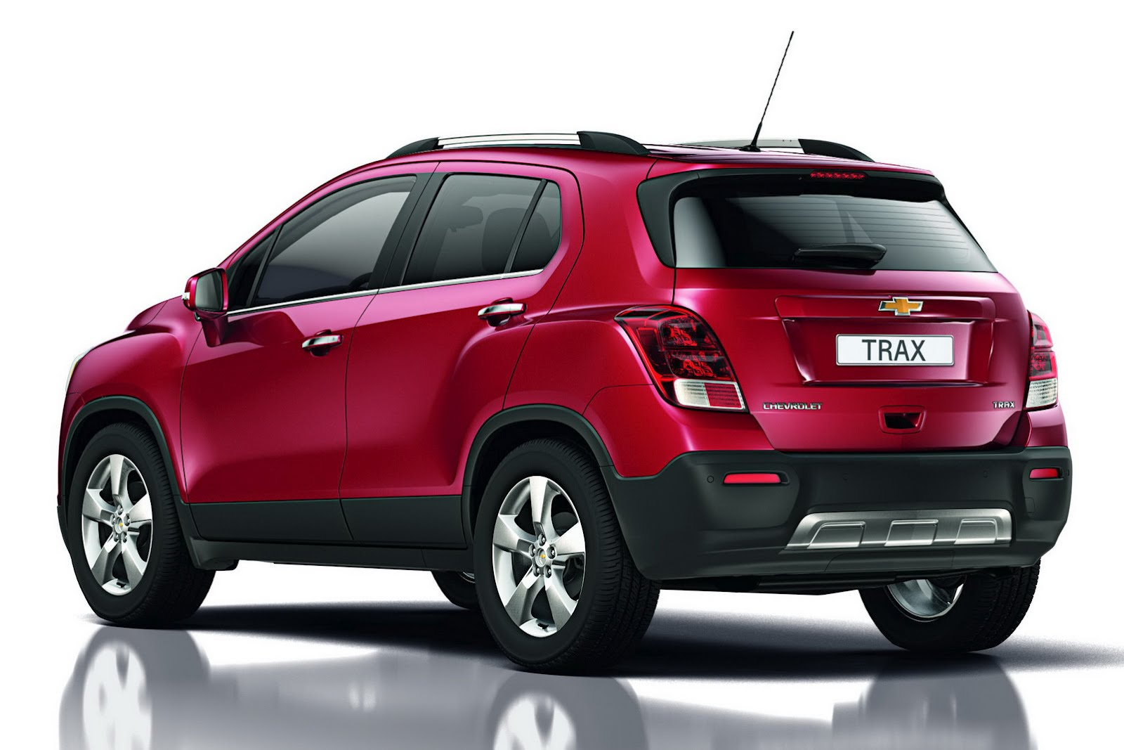 Side Image Of New Chevrolet Trax Concept