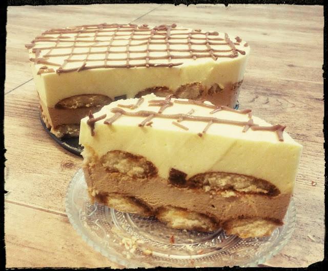 ciasto cappuccino bez pieczenia ciasto cappuccino cytrnowe na zimno ciasto kawow cytrynowe ciasto pianka ciasto na biszkoptach