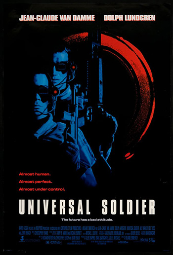 Universal Soldier 1992 Dual Audio ORG Hindi 480p BluRay 300MB poster