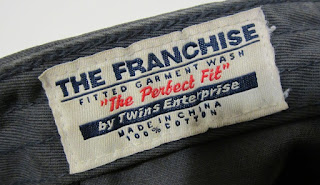 Twins Enterprise The Franchise ball cap label
