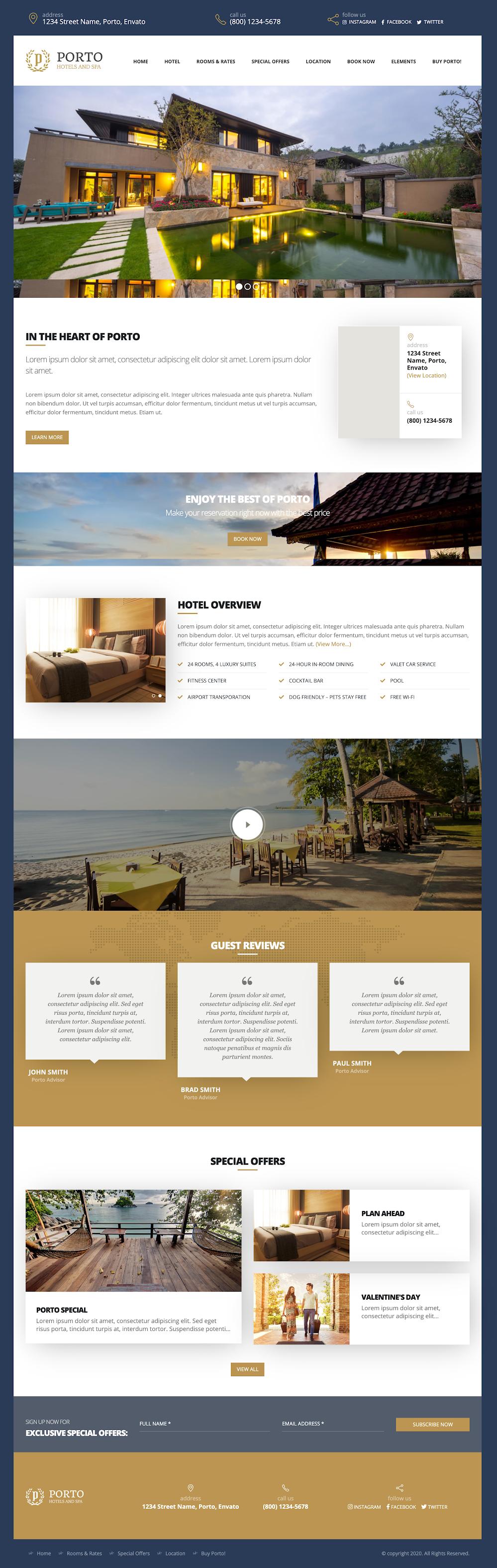 Mẫu template blogspot bất động sản version 2