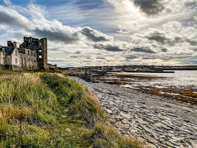 Scotland by rail part 3, Thurso is cold, mandy charlton photographer, castle and rail travel
