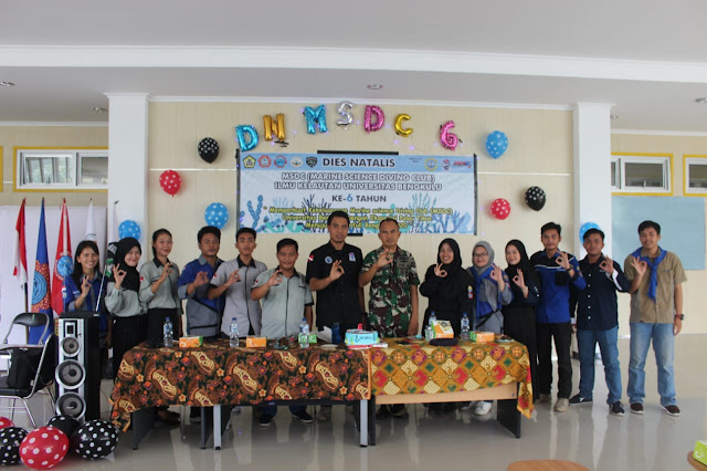 IKL UNIB | 6 Tahun MSDC UNIB, Lakukan Ekspedisi Pulau Tikus.