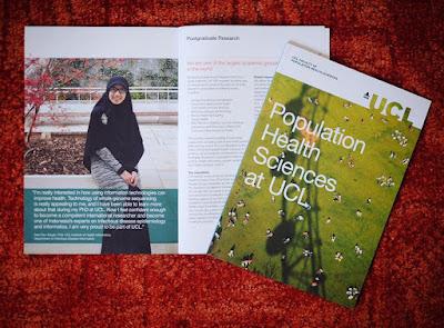 Perempuan Indonesia Berjilbab Lebar di Brosur Edukasi Universitas Terkemuka di London, Siapakah Dia?