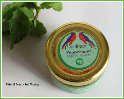 Ardhana Peppermint Organic Lip balm Review on Natural Beauty And Makeup blog