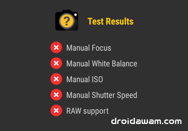 Cara Mengaktifkan Camera2 API agar Support Manual Camera