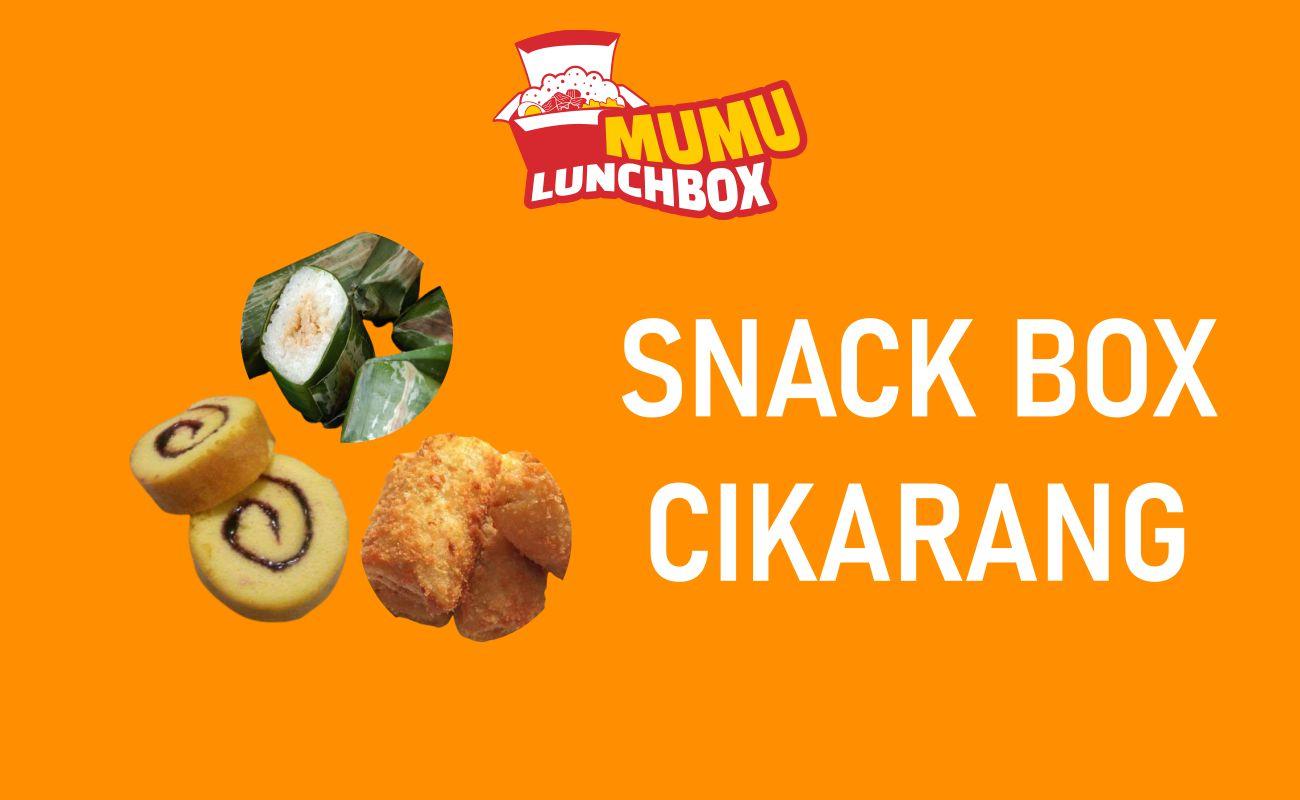 Pesan Snack Box Cikarang