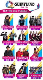 artistas feria querétaro 2019 teatro del pueblo