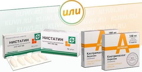 Клотримазол или Нистатин — что лучше?